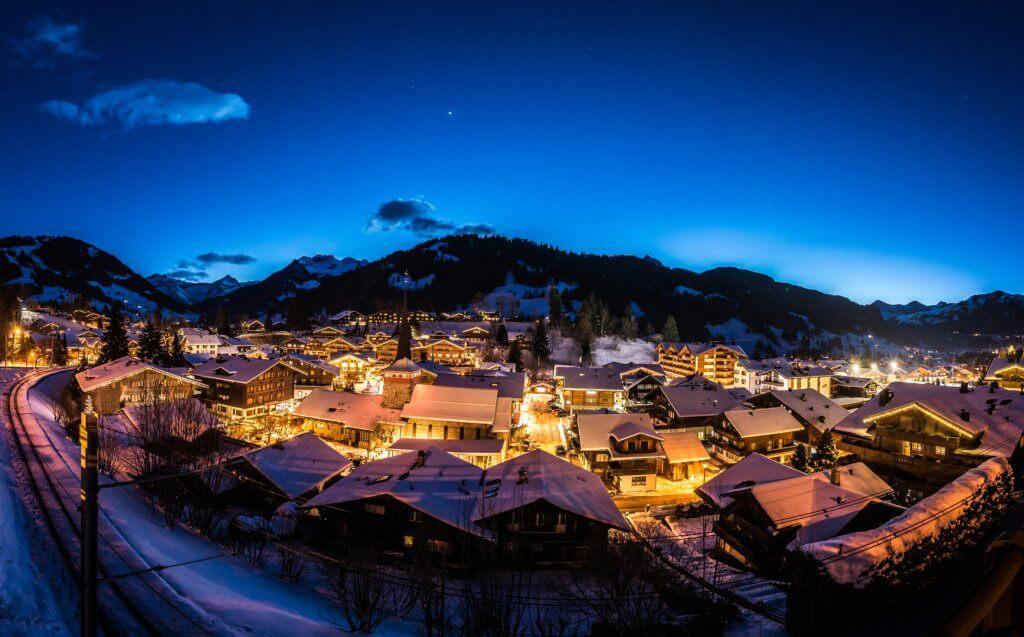 Gstaad immobilien Nacht
