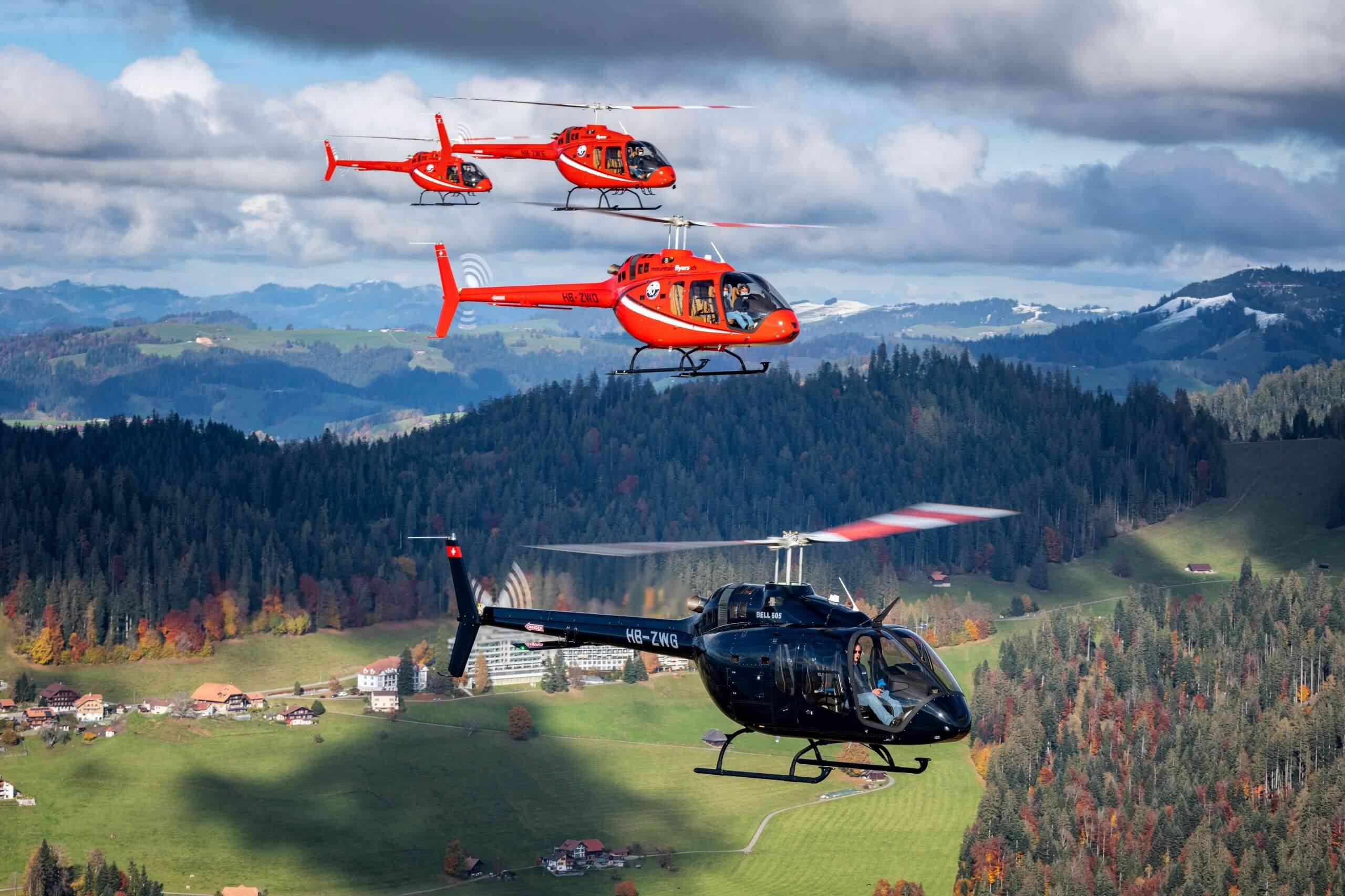 Heliopter mieten zürich , zermatt